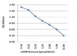 cAMP检测试剂盒标准曲线