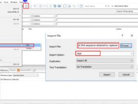 EndNote X9的 使用进阶二:解锁PDF文件导入正确方式!