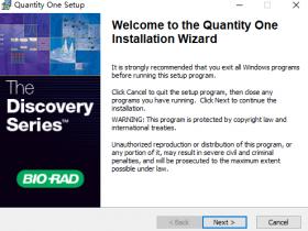 WesternBlot灰度分析软件之QuantityOne安装及破解教程