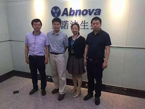 感谢亚诺法Abnova的邀请。我们感觉到了同胞的敬业和专业精神,也希望我们的用户能使用这些高品质的产品为中国的生命科学技术研究做出更大的贡献!