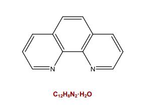 1,10-phenanthroline化学结构