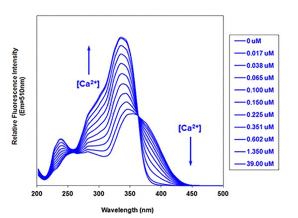 Fura-2和Indo-1的荧光检测